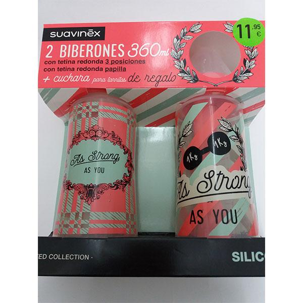 Suavinex AS YOU Pack Biberones SILICONA 360ml