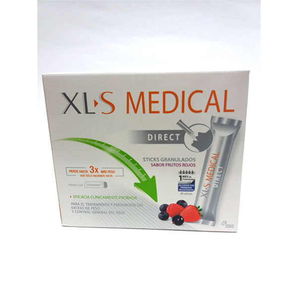 XLS MEDICAL 90 STICKS GRANULADOS