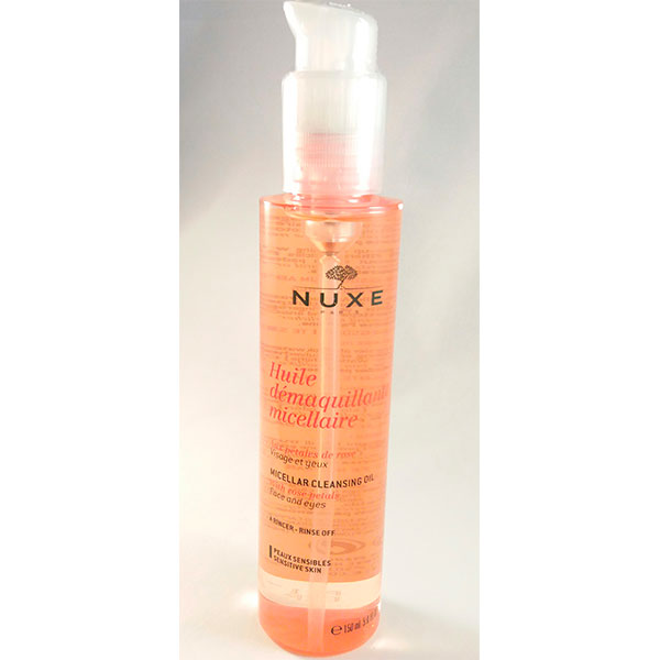 Nuxe Rose Huile Desmaquillante Micelar 150ml