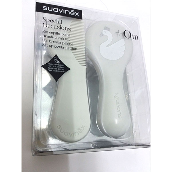 Suavinex SPECIAL OCCASIONS Set Cepillo-Peine +0m