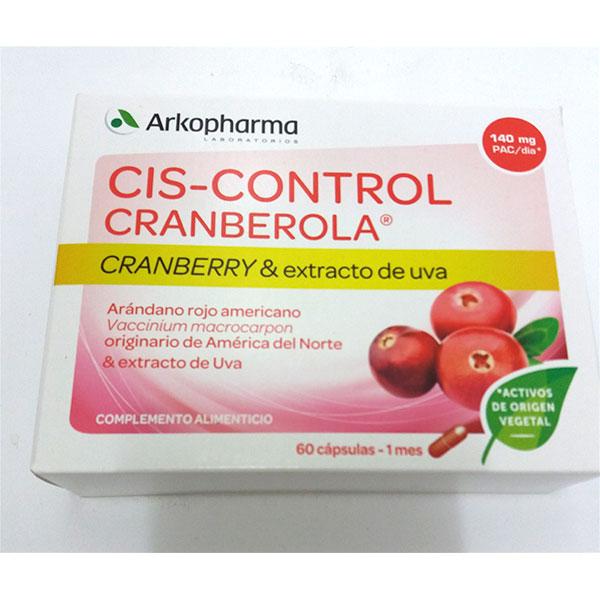 CIS-CONTROL CRANBEROLA  60 cápsulas - Arkopharma