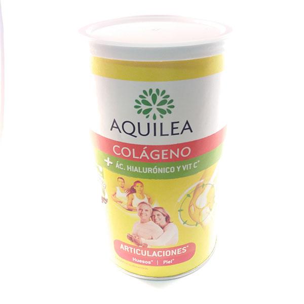 AQUILEA Colágeno+Äcido Hialurónico+ vit C, 375g-sabor vainilla