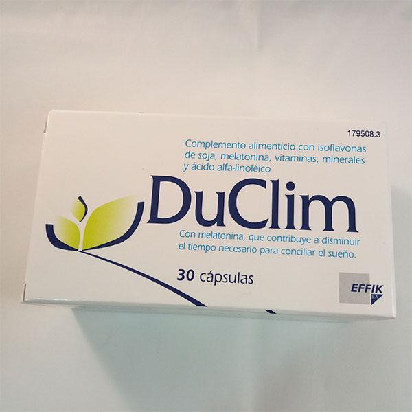 DuClim 30 cápsulas(isoflavonas,melatonina) - EFFIK