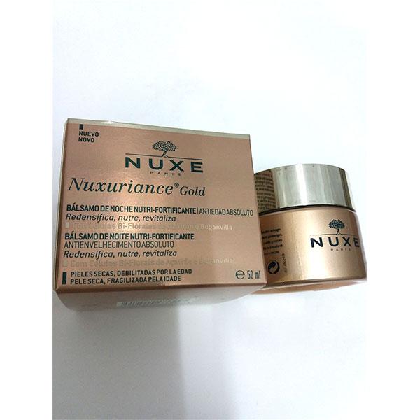 Nuxuriance Gold Bálsamo de Noche ANTIEDAD ABSOLUTO 50ml - Nuxe