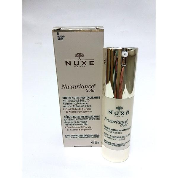 Nuxuriance Gold Serum Antiedad Absoluto 30ml - Nuxe