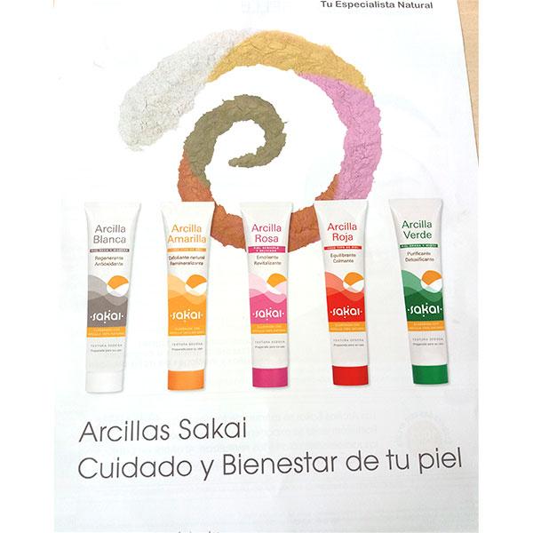 Mascarilla de Arcilla - Sakai