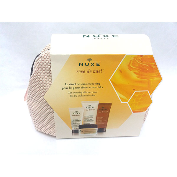 NUXE Reve de MIel NECESER 4 productos.