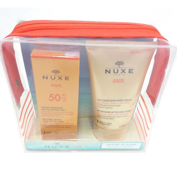 Nuxe Sun Crema Fundente Facial SPF50+ Leche refrescante