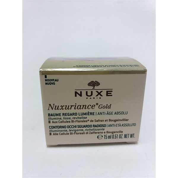 Nuxuriance Gold Bálsamo Mirada Luminosa 15ml - Nuxe