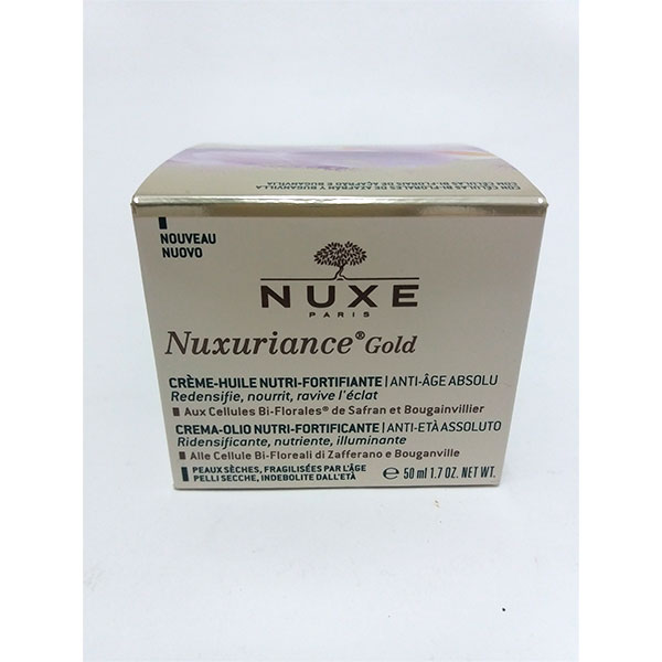 Nuxuriance Gold Crema-Aceite Nutri-Fortificante, 50ml