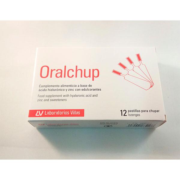 Oralchup 12 pastillas para chupar - Viñas