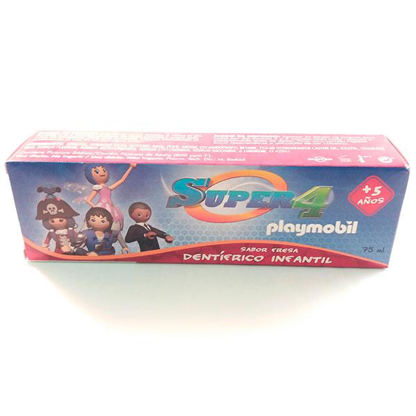 Super4 playmobil Dentífrico Infantil 75ml - Kin