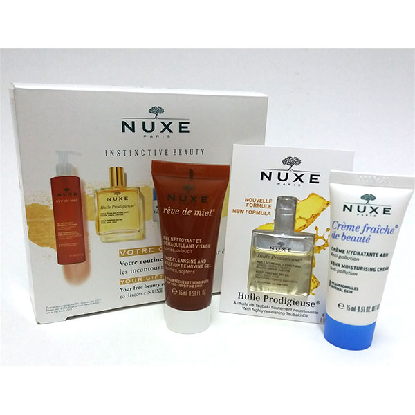 Nuxuriance Ultra Ojos y Labios Crema anti-edad 15ml  - Nuxe + SU REGALO