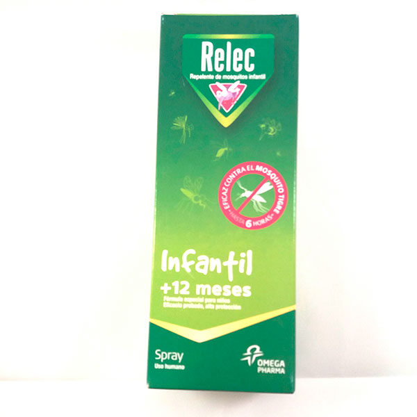 Relec INFANTIL Spray Repelente 100ml