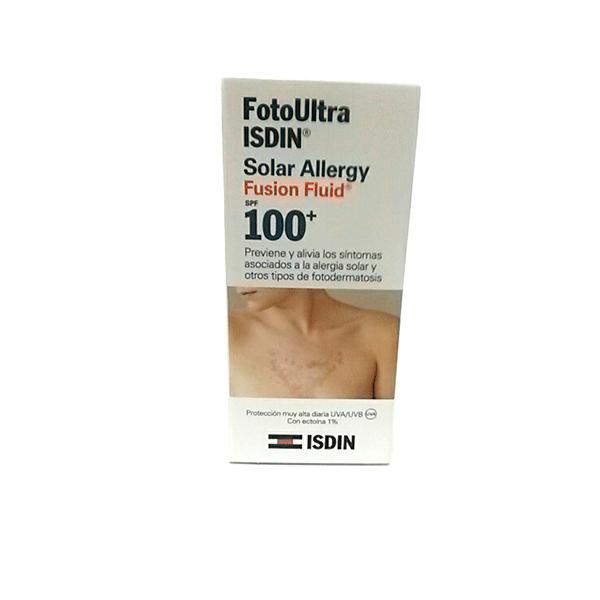 Foto Ultra Isdin  Solar Allergy Fusion Fluid 100+, 50ml