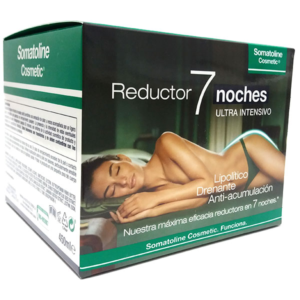 Somatoline Cosmetic Reductor 7 Noches Ultra Intensivo, 450ml