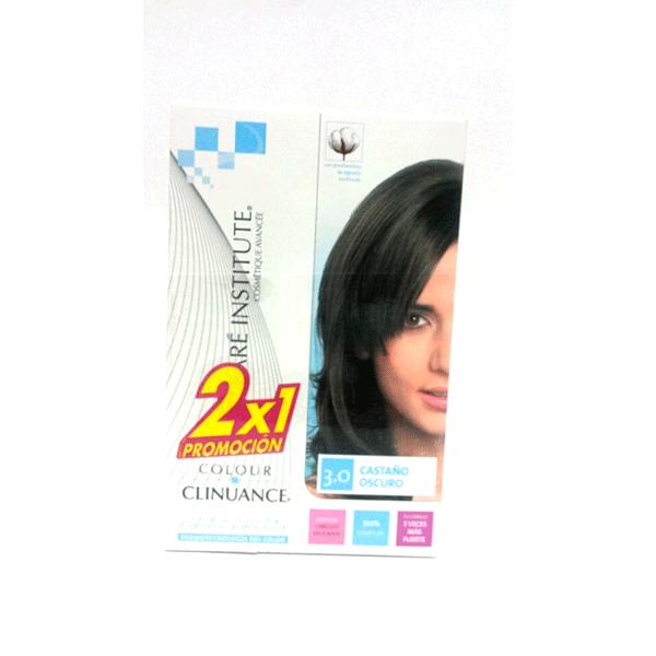Tinte Colour Clinuance Castaño Oscuro 3.0 - Phergal
