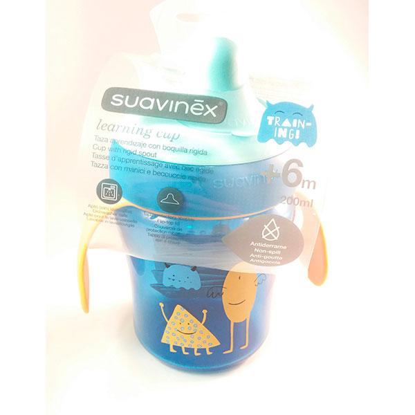 Suavinex Taza Aprendizaje boquilla rígida +6m