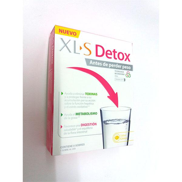 XLS MEDICAL Detox 8 Sobres.