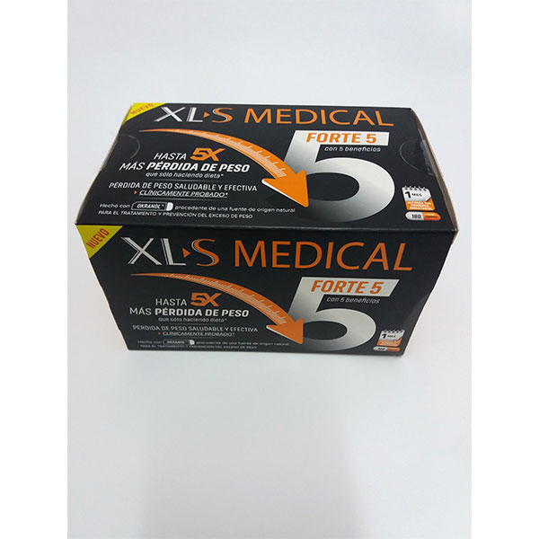 XLS MEDICAL FORTE 5 180 cápsulas.