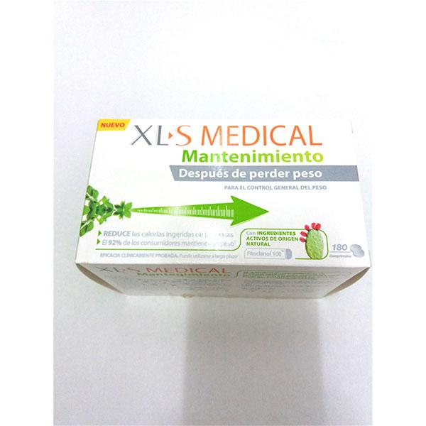 XLS MEDICAL Mantenimiento 180 comprimidos.