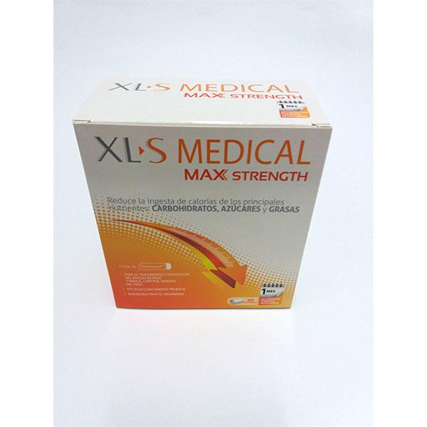 XLS MEDICAL MAX STRENGTH 120 comprimidos.